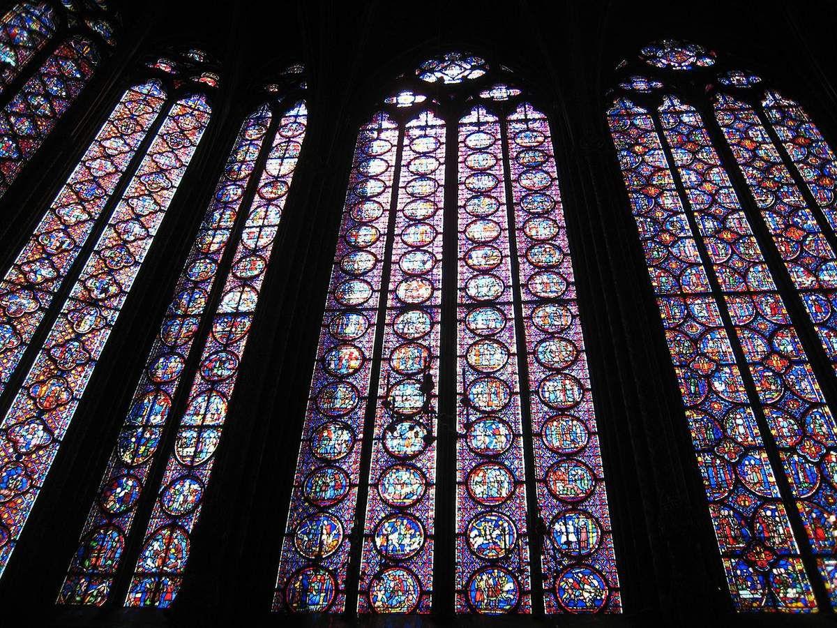 TRESORS DU PATRIMOINE FRANCAIS : PARIS - LA SAINTE CHAPELLE