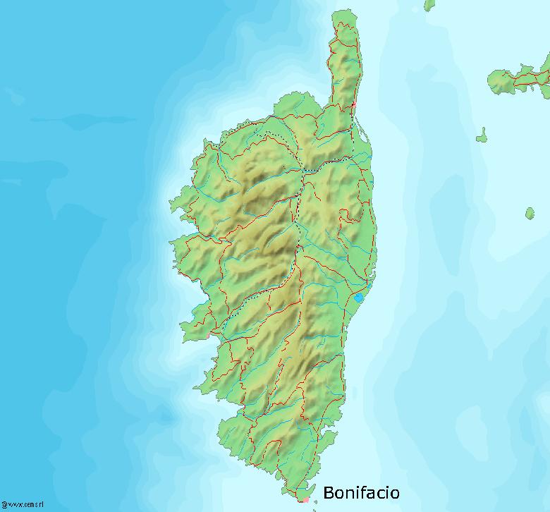 TRESORS DU PATRIMOINE FRANCAIS : BONIFACIO  (CORSE-DU-SUD)