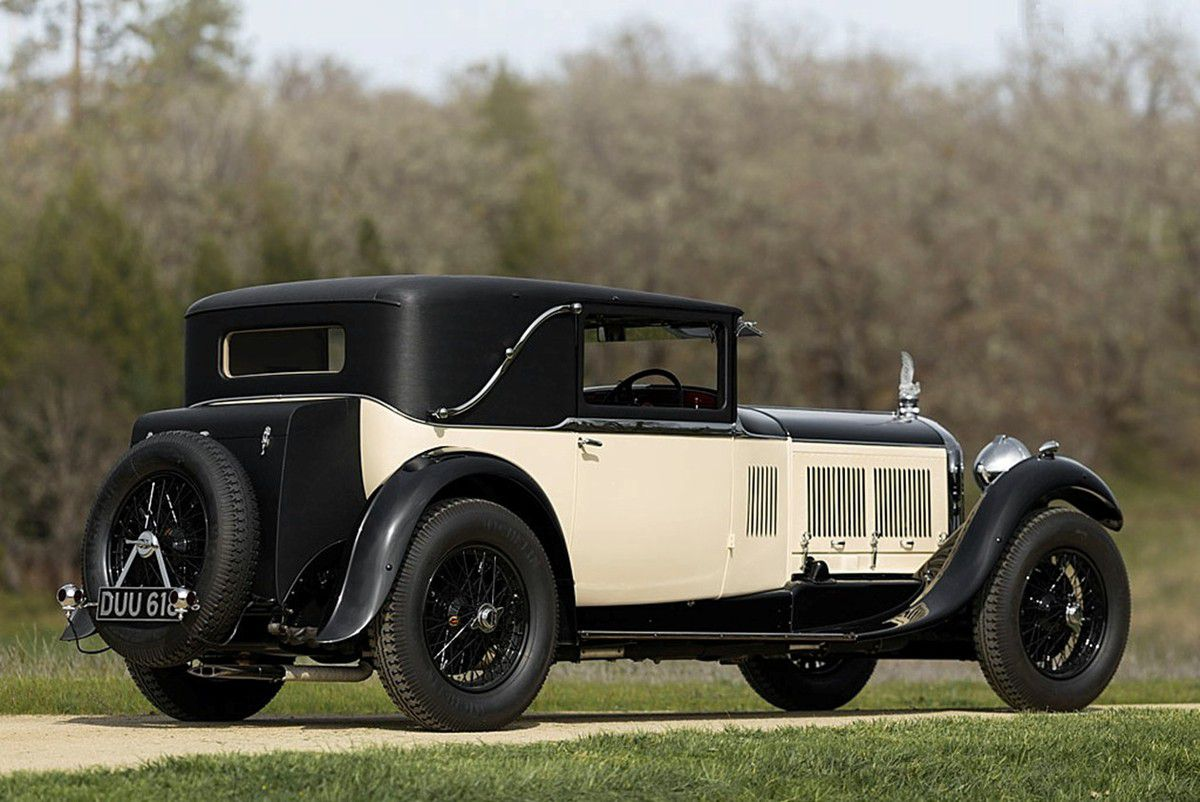 "VOITURES DE LEGENDE (845) : BENTLEY  ""SPEED SIX"" MULLINER SPORTMAN'S SALOON - 1930"