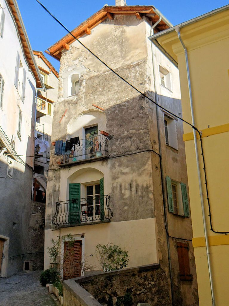 TRESORS DU PATRIMOINE FRANCAIS : SAORGE  (ALPES-MARITIMES)