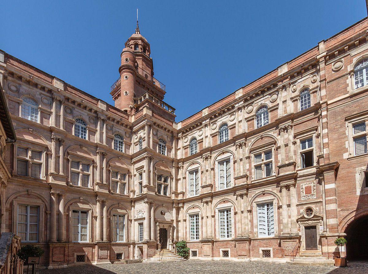 TRESORS DU PATRIMOINE FRANCAIS : TOULOUSE  (HAUTE-GARONNE) - HOTEL D'ASSEZAT