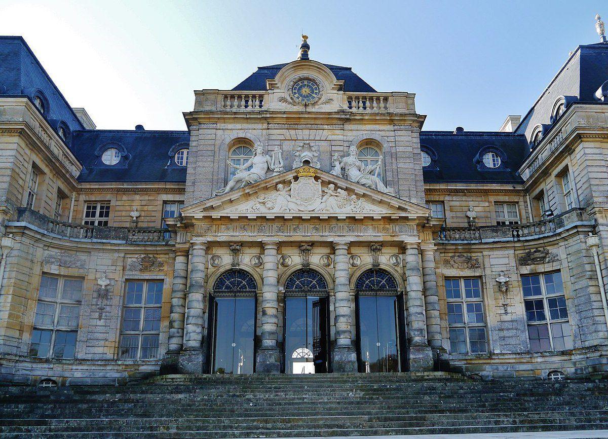 TRESORS DU PATRIMOINE FRANCAIS : VAUX-LE-VICOMTE  (SEINE-ET-MARNE) - LE CHATEAU
