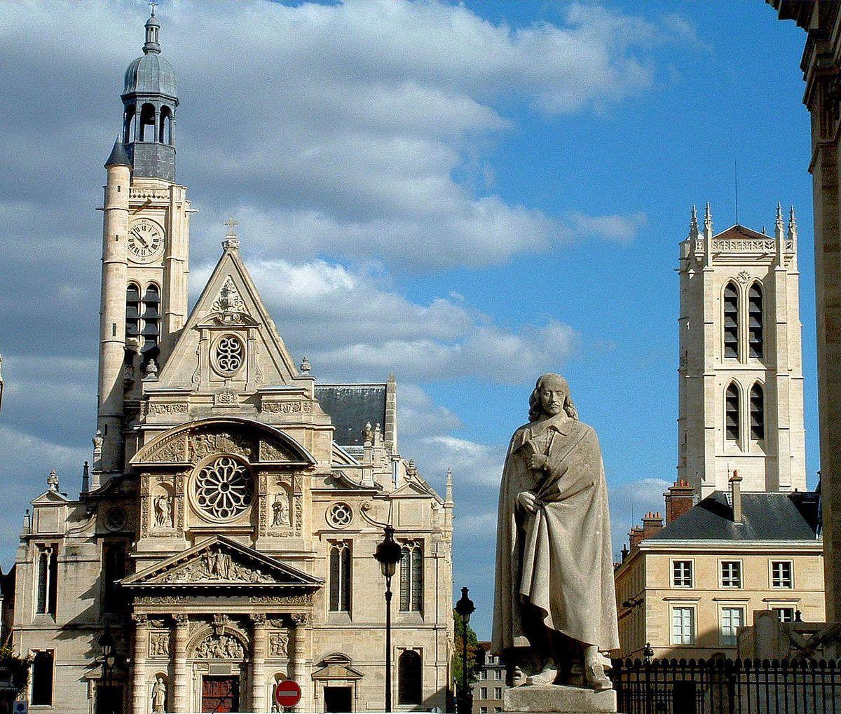 TRESORS DU PATRIMOINE FRANCAIS : PARIS - EGLISE SAINT-ETIENNE-DU-MONT