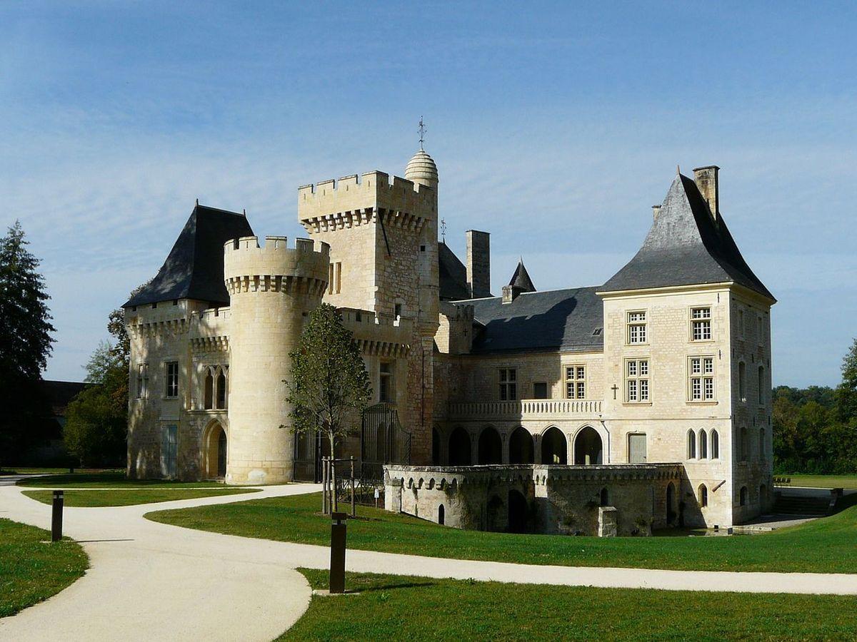 TRESORS DU PATRIMOINE FRANCAIS : CAMPAGNE  (DORDOGNE) - LE CHATEAU