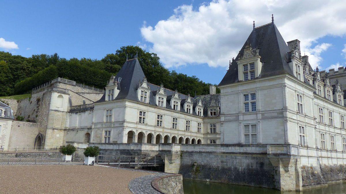 TRESORS DU PATRIMOINE FRANCAIS : VILLANDRY (INDRE-ET-LOIRE) - LE CHATEAU