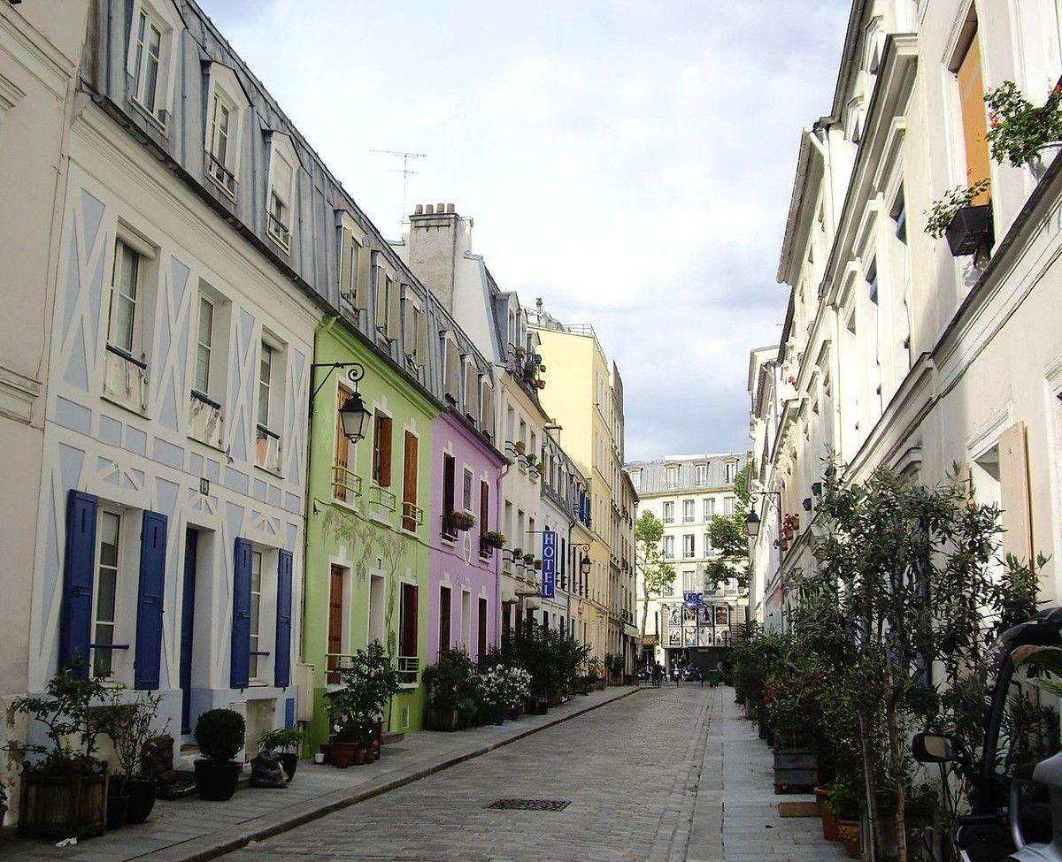 TRESORS DU PATRIMOINE FRANCAIS : PARIS  (XIIème ARRONDISSEMENT) - LA RUE CREMIEUX