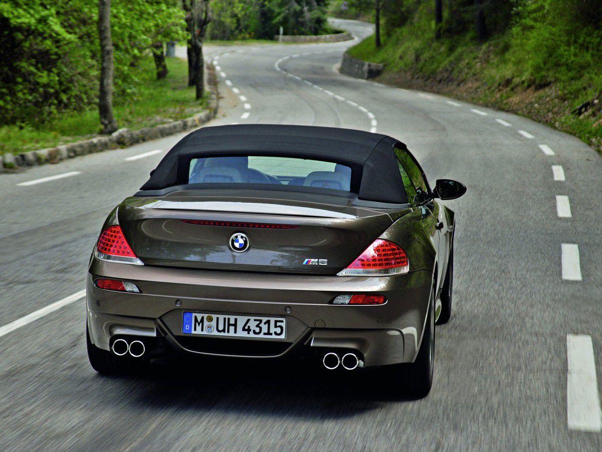 VOITURES DE LEGENDE (865) : BMW  M6 CABRIOLET - 2006