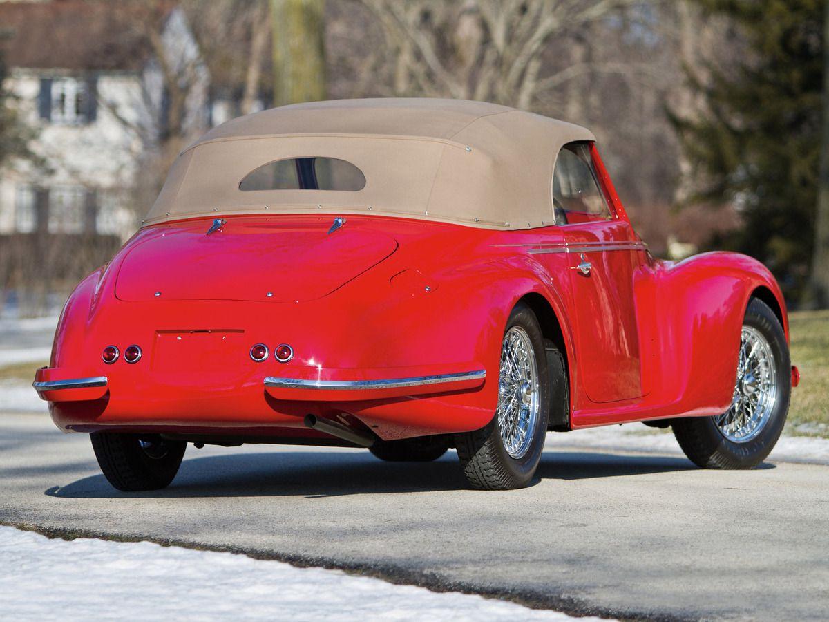 VOITURES DE LEGENDE (867) : ALFA ROMEO  6C  2500  TOURING SPORT CABRIOLET - 1942