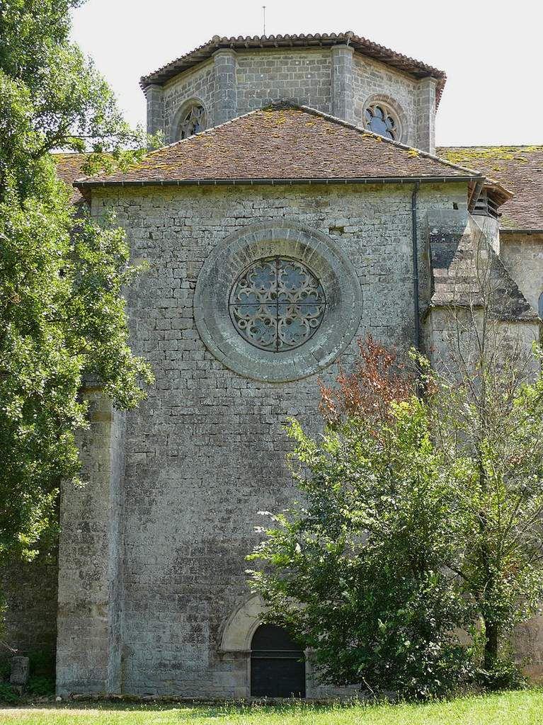 TRESORS DU PATRIMOINE FRANCAIS : ABBAYE NOTRE-DAME DE BEAULIEU-EN-ROUERGUE  (TARN ET GARONNE)