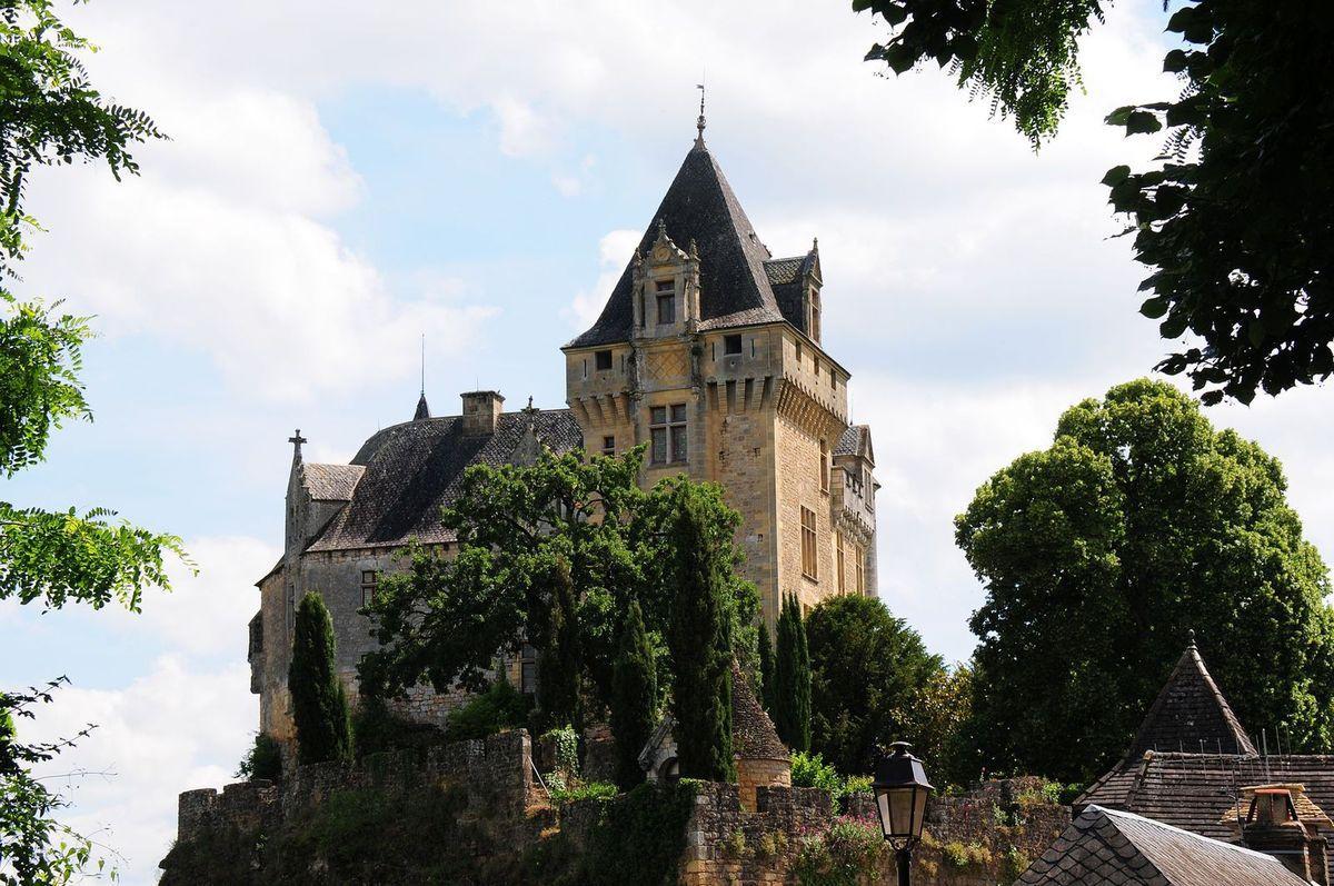 TRESORS DU PATRIMOINE FRANCAIS : VITRAC (DORDOGNE) - LE CHATEAU DE MONTFORT