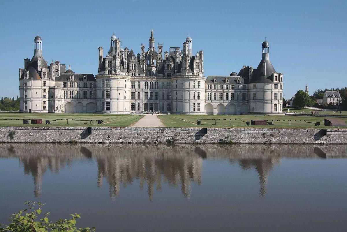 TRESORS DU PATRIMOINE FRANCAIS : LE CHATEAU DE CHAMBORD (LOIRE ET CHER)