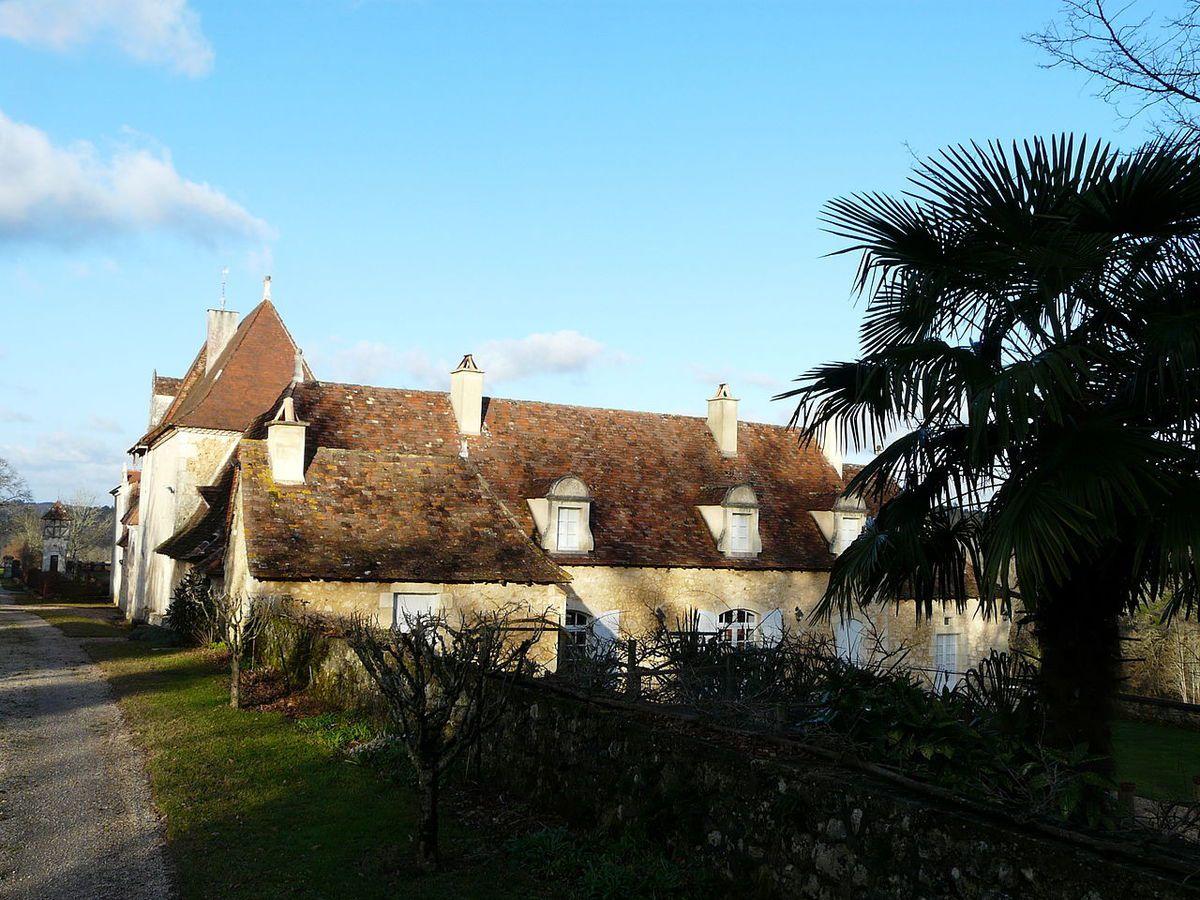 TRESORS DU PATRIMOINE FRANCAIS : MONTAGNAC-LA-CREMPSE  (DORDOGNE) - LE MANOIR DE LEYGONIE