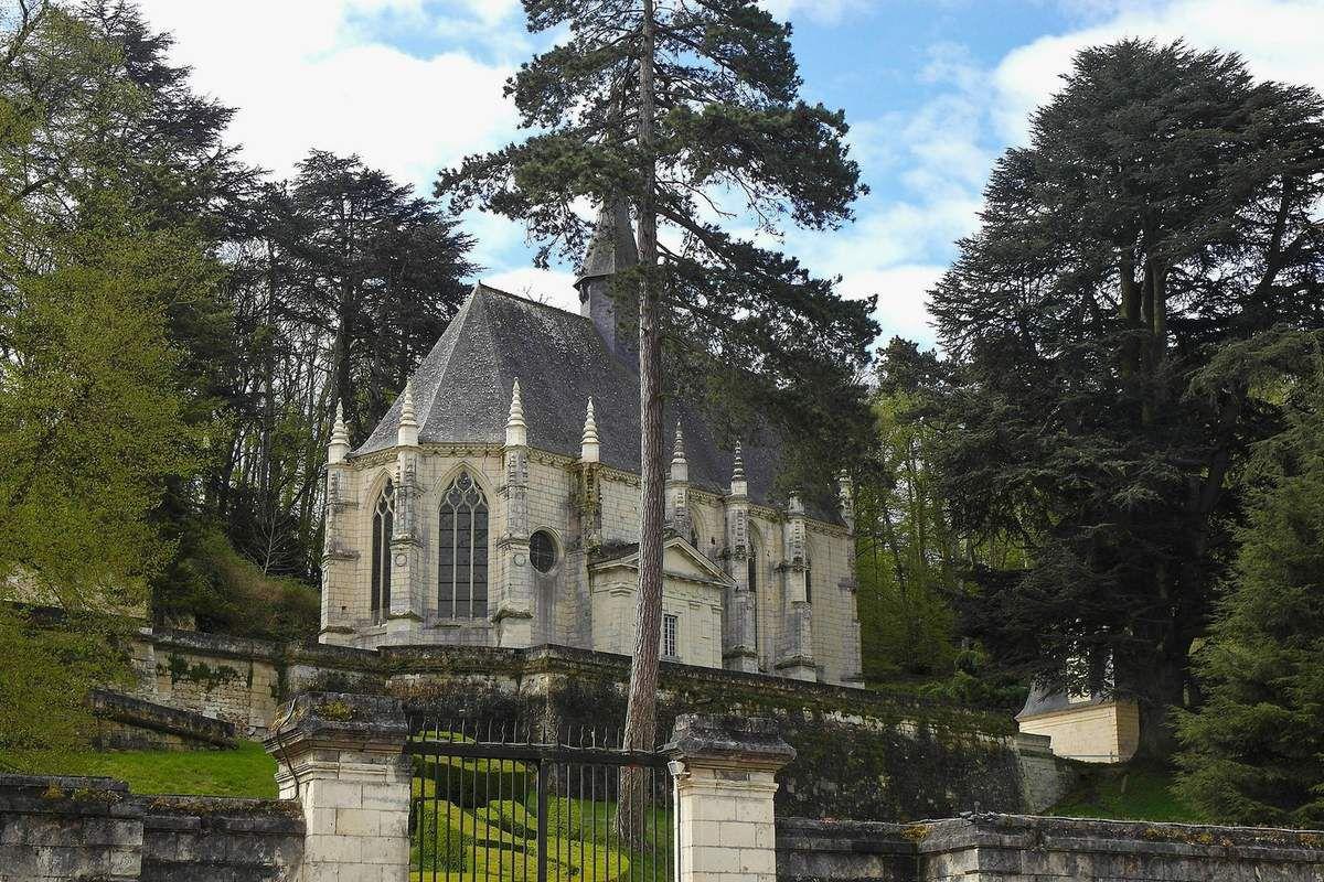 TRESORS DU PATRIMOINE FRANCAIS : LE CHATEAU D'USSE  (INDRE-ET-LOIRE)