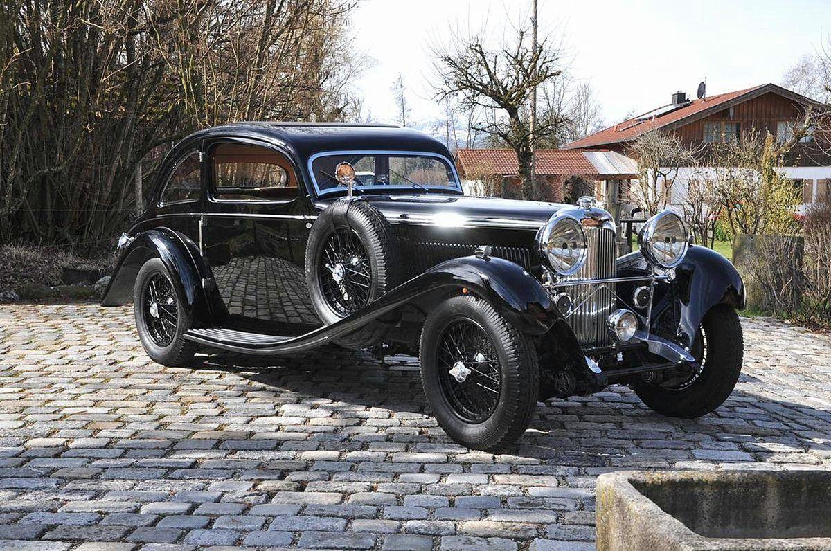VOITURES DE LEGENDE (898) : LAGONDA  M45  BRAINSBY WOOLLARD COUPE - 1934