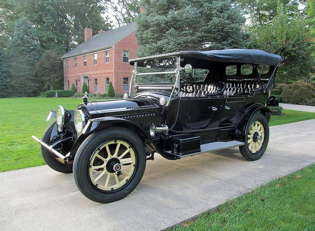 "VOITURES DE LEGENDE (902) : PACKARD  ""TWIN SIX"" SERIE 1-25 SEVEN PASSENGER TOURING - 1915"