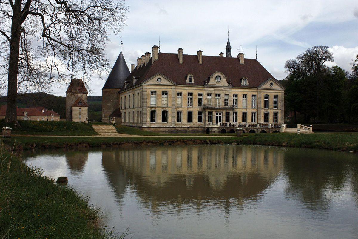 TRESORS DU PATRIMOINE FRANCAIS : LE CHATEAU DE COMMARIN  (COTE D'OR)