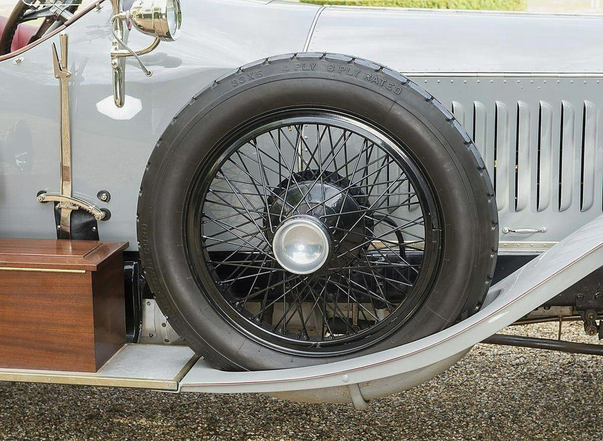 "VOITURES DE LEGENDE (906) : ROLLS-ROYCE  SILVER GHOST  ""ALPINE EAGLE"" TOURER - 1920"