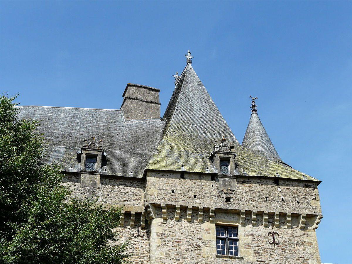 TRESORS DU PATRIMOINE FRANCAIS : JUMILHAC-LE-GRAND  (DORDOGNE) - LE CHATEAU