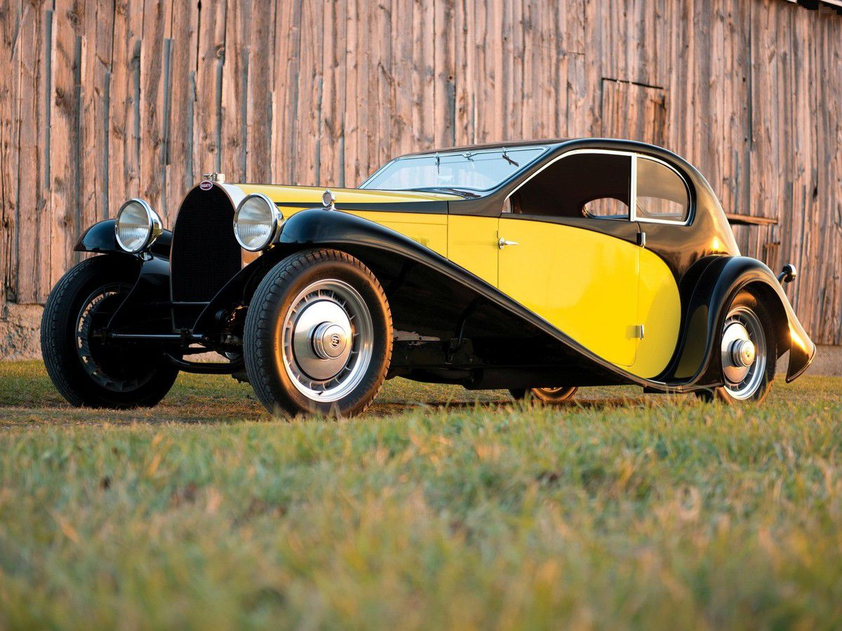 VOITURES DE LEGENDE (908) : BUGATTI  TYPE 46 COUPE SUPERPROFILE - 1930