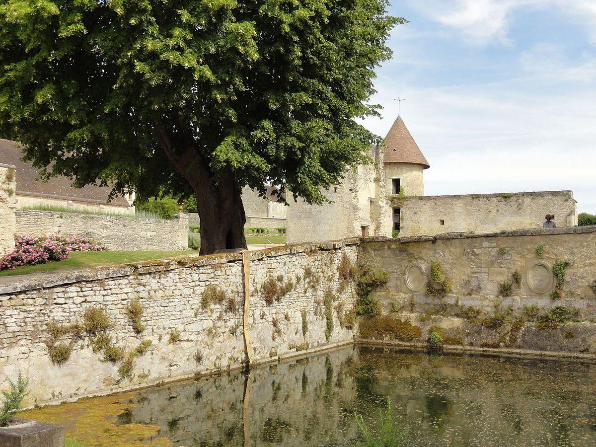 TRESORS DU PATRIMOINE FRANCAIS : DOMAINE DE VILLARCEAUX  (VAL D'OISE) - LE MANOIR