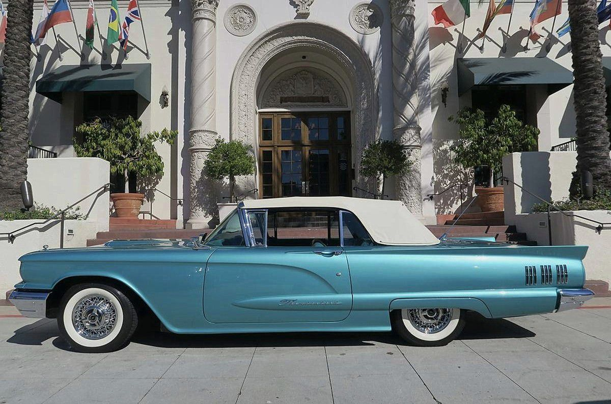 VOITURES DE LEGENDE (928) : FORD THUNDERBIRD CONVERTIBLE - 1960