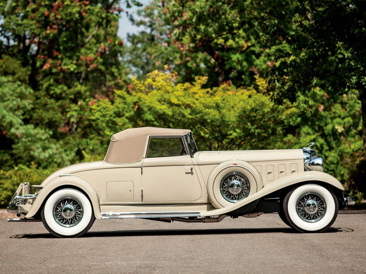 VOITURES DE LEGENDE (932) : CHRYSLER CUSTOM IMPERIAL  LeBARON CONVERTIBLE ROADSTER - 1933