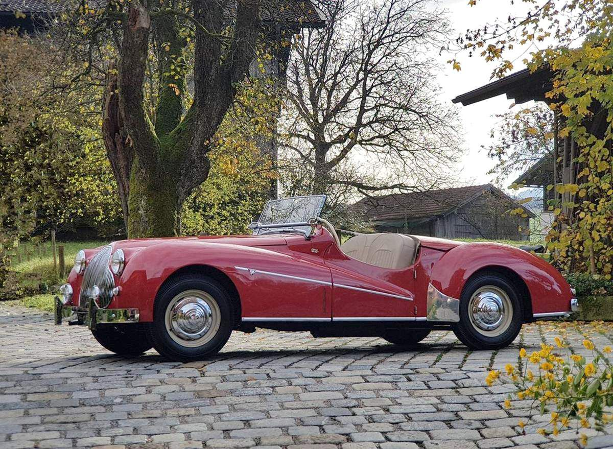 VOITURES DE LEGENDE (935) : ALVIS  TB14 SPECIAL SPORTS TOURER - 1950
