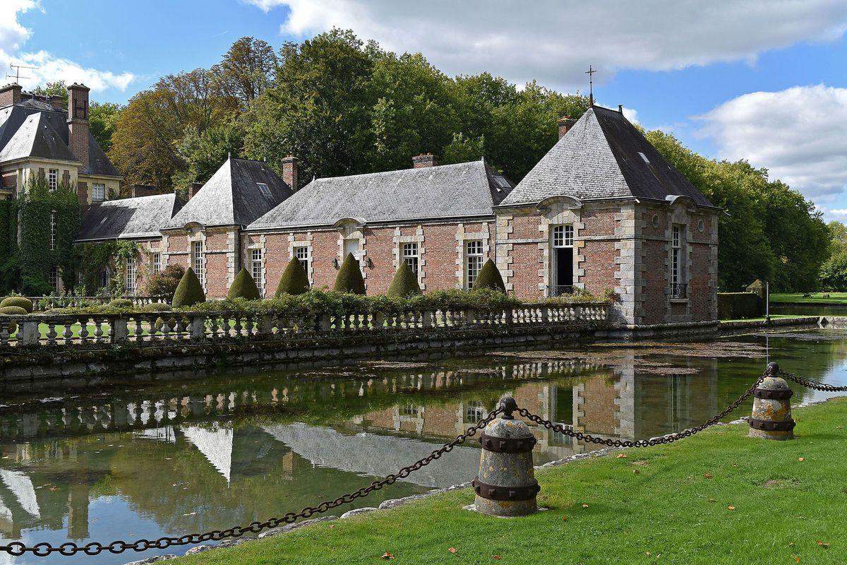 TRESORS DU PATRIMOINE FRANCAIS : LE CHATEAU DE COURANCES  (ESSONNE)