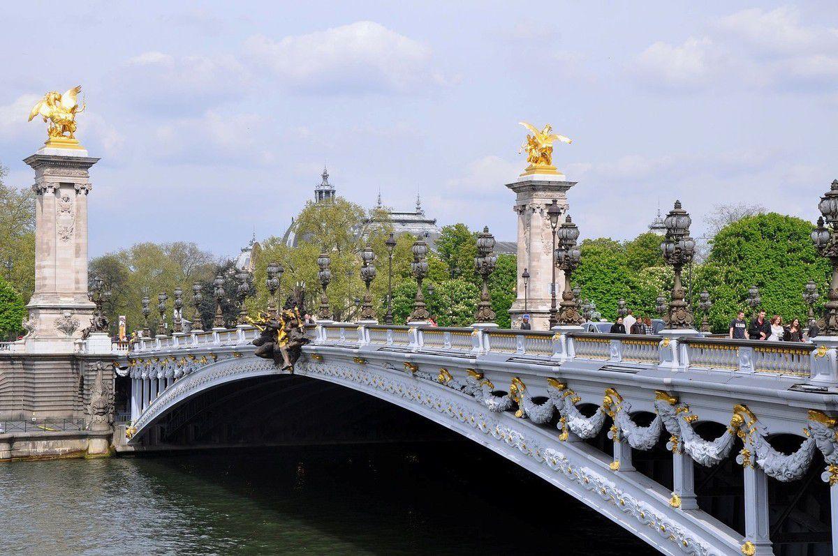 TRESORS DU PATRIMOINE FRANCAIS : PARIS - LE PONT ALEXANDRE III