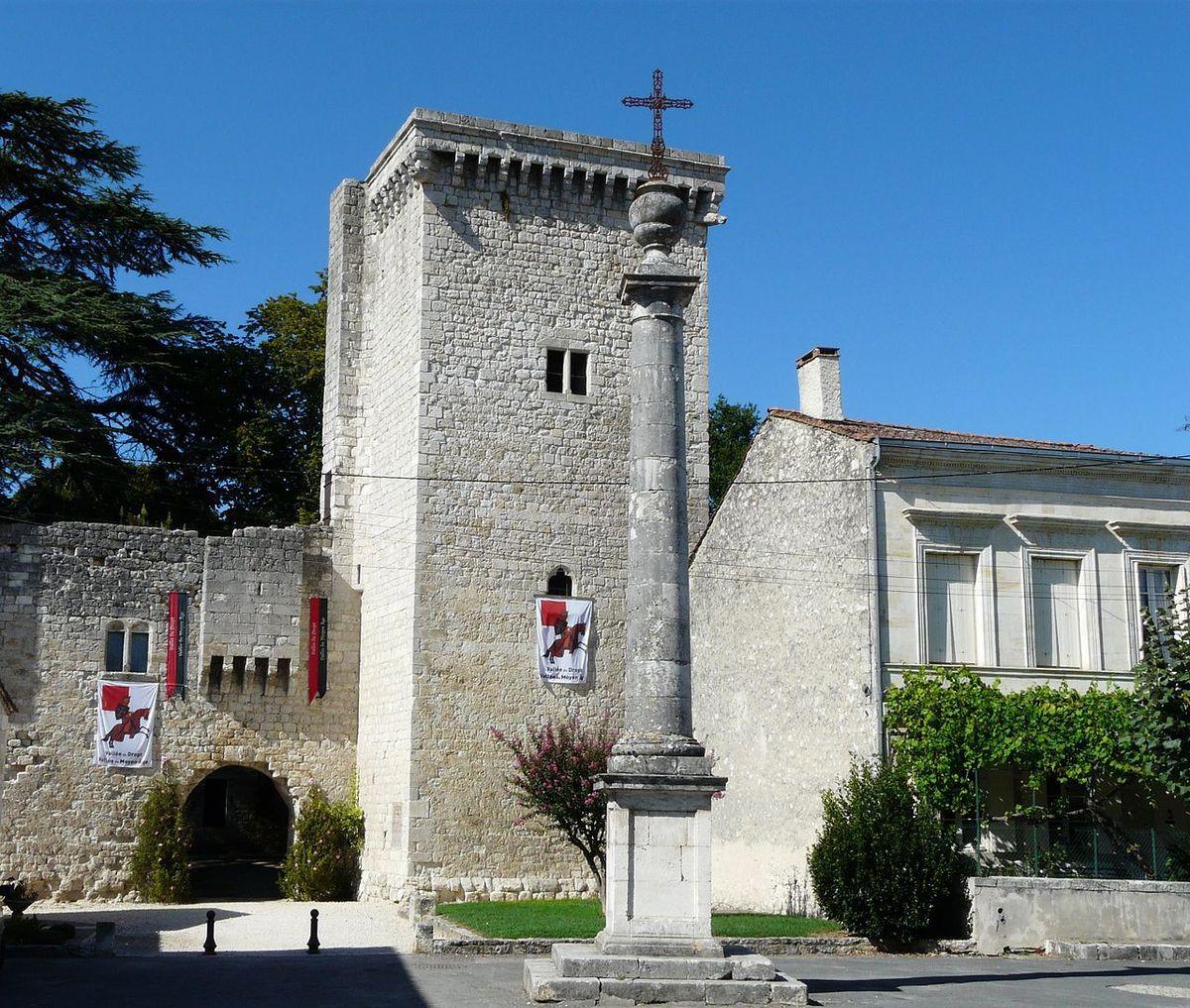TRESORS DU PATRIMOINE FRANCAIS : EYMET  (DORDOGNE) - LE CHATEAU DE LA BASTIDE