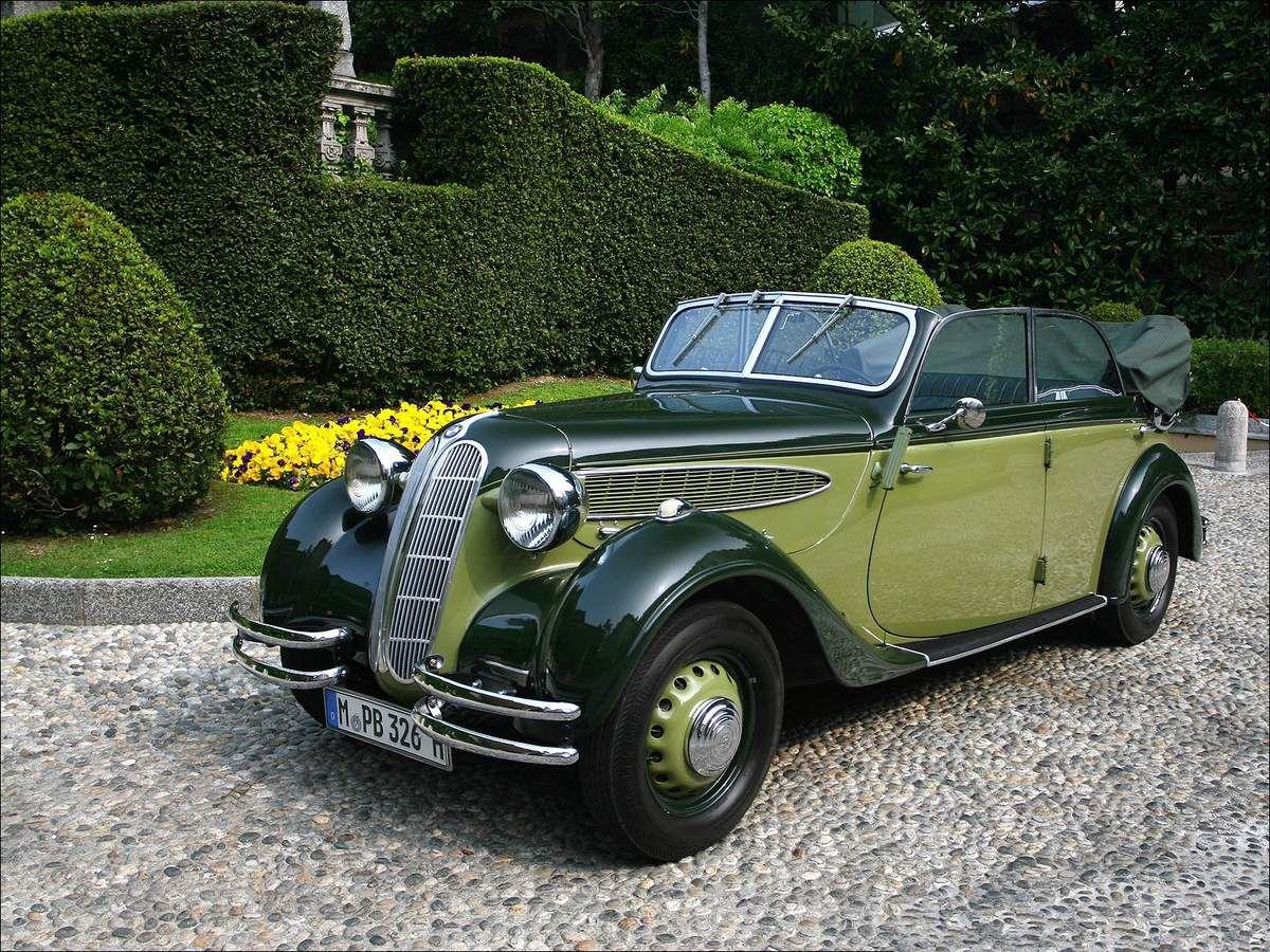 VOITURES DE LEGENDE (962) : BMW 326 CABRIOLET - 1936