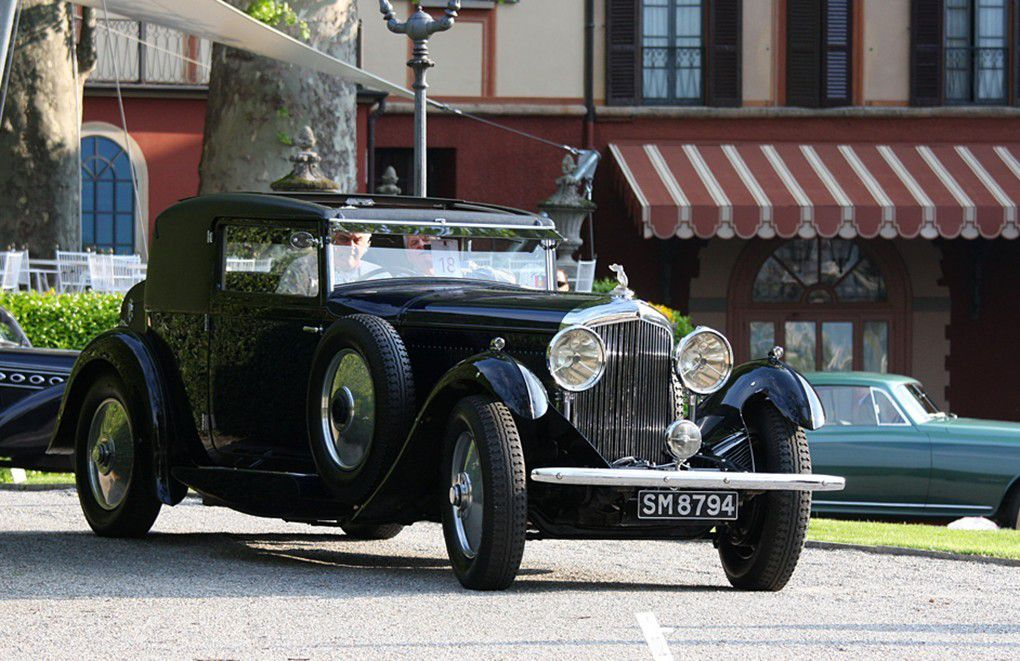 VOITURES DE LEGENDE (963) : BENTLEY 8-LITRE GURNEY NUTTING SPORTSMAN COUPE - 1931