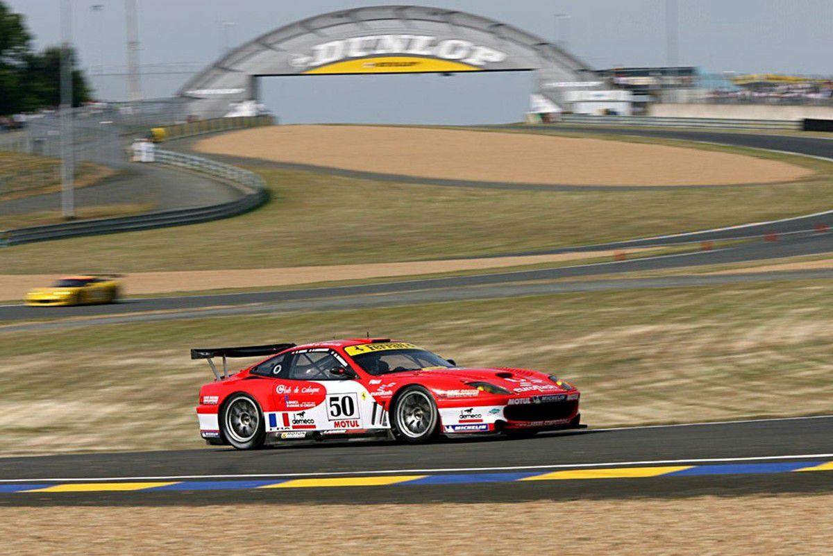 VOITURES DE LEGENDE (979) : FERRARI  550 GTS MARANELLO - 2001