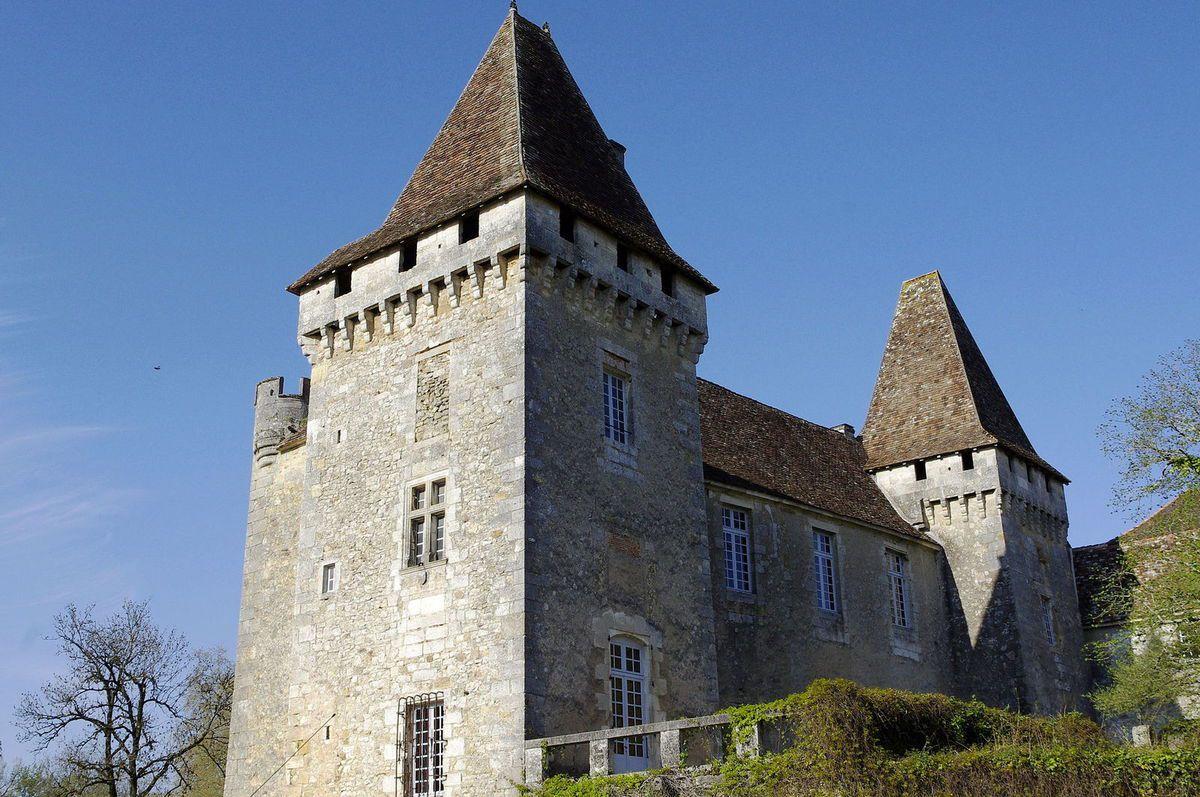 TRESORS DU PATRIMOINE FRANCAIS : SAINT-JEAN-DE-CÔLE  (DORDOGNE) - LE CHATEAU DE LA MARTHONIE