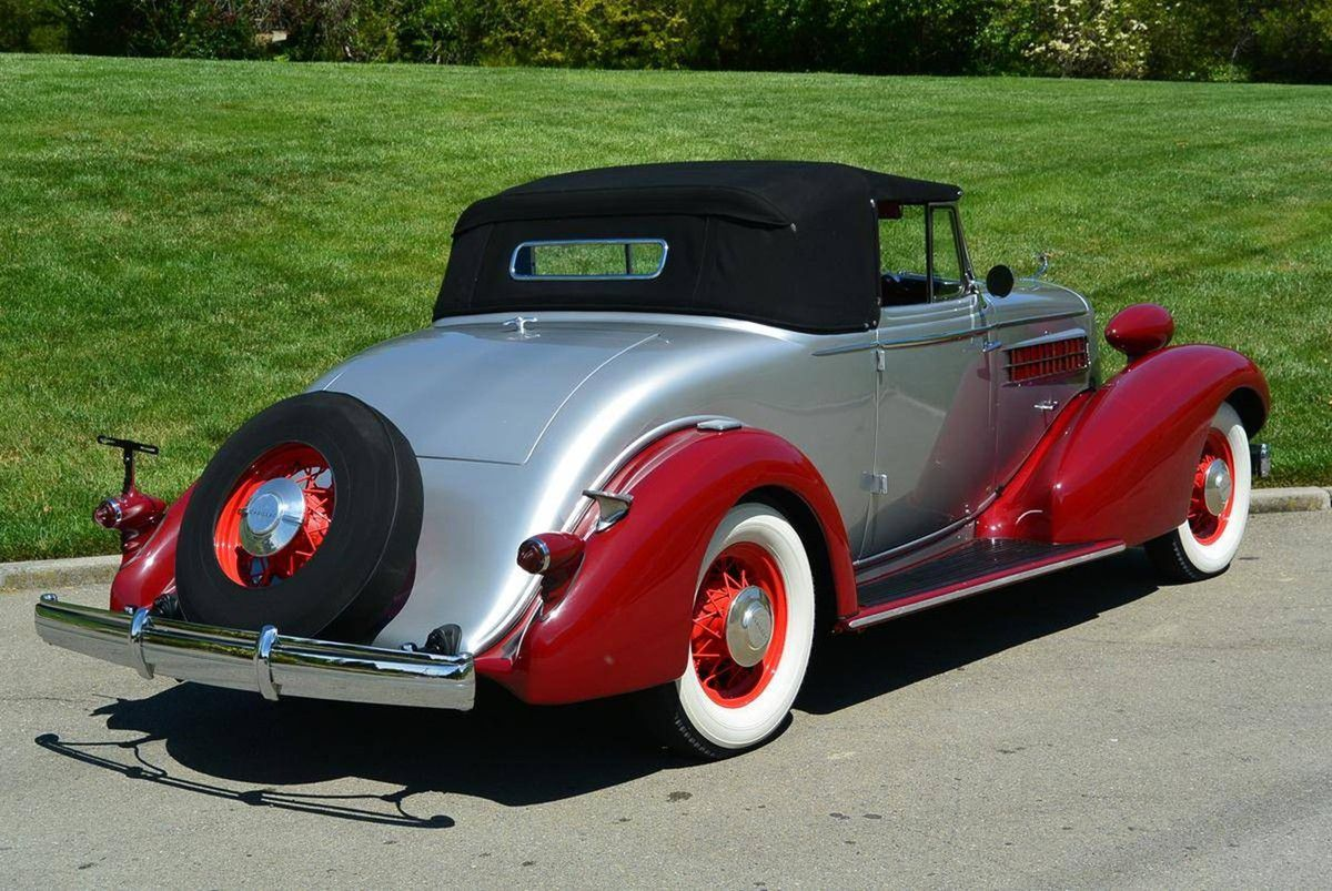 VOITURES DE LEGENDE (1007) : CADILLAC  355D CONVERTIBLE COUPE - 1934