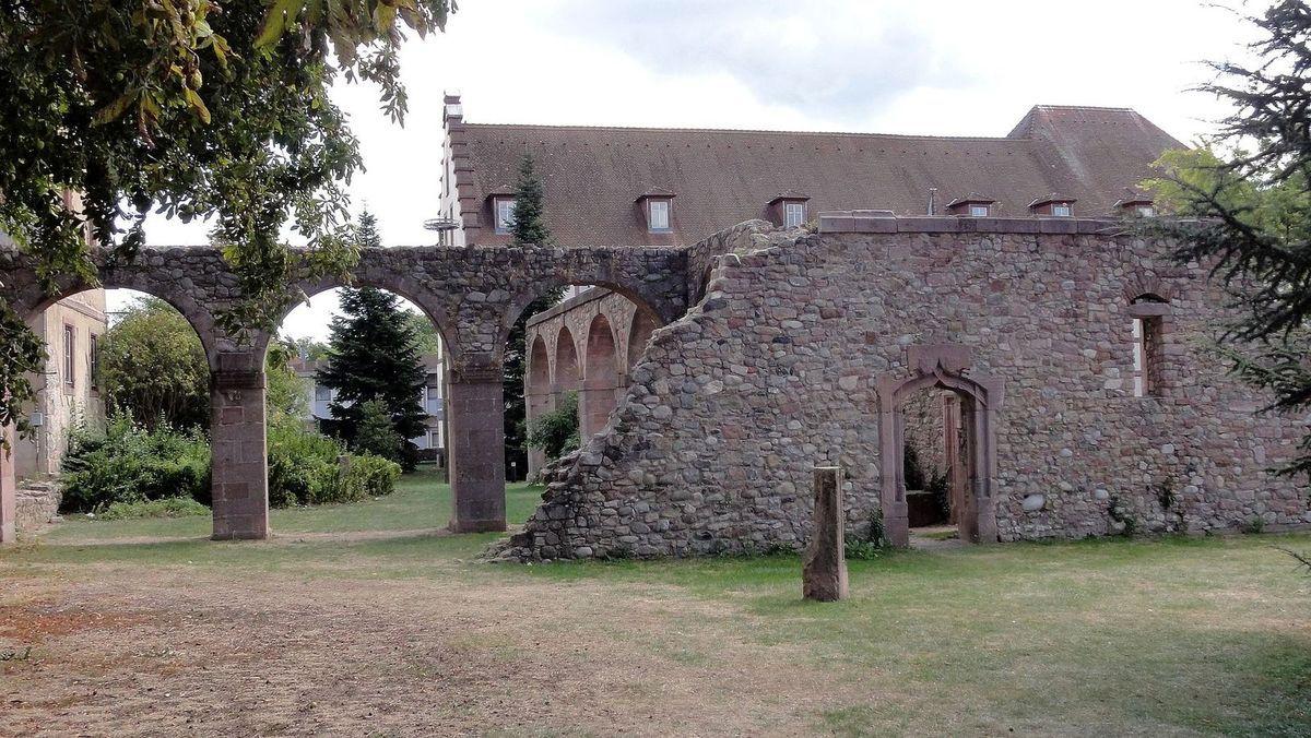 TRESORS DU PATRIMOINE FRANCAIS : MUNSTER  (HAUT-RHIN) - ANCIENNE ABBAYE BENEDICTINE SAINT-GREGOIRE