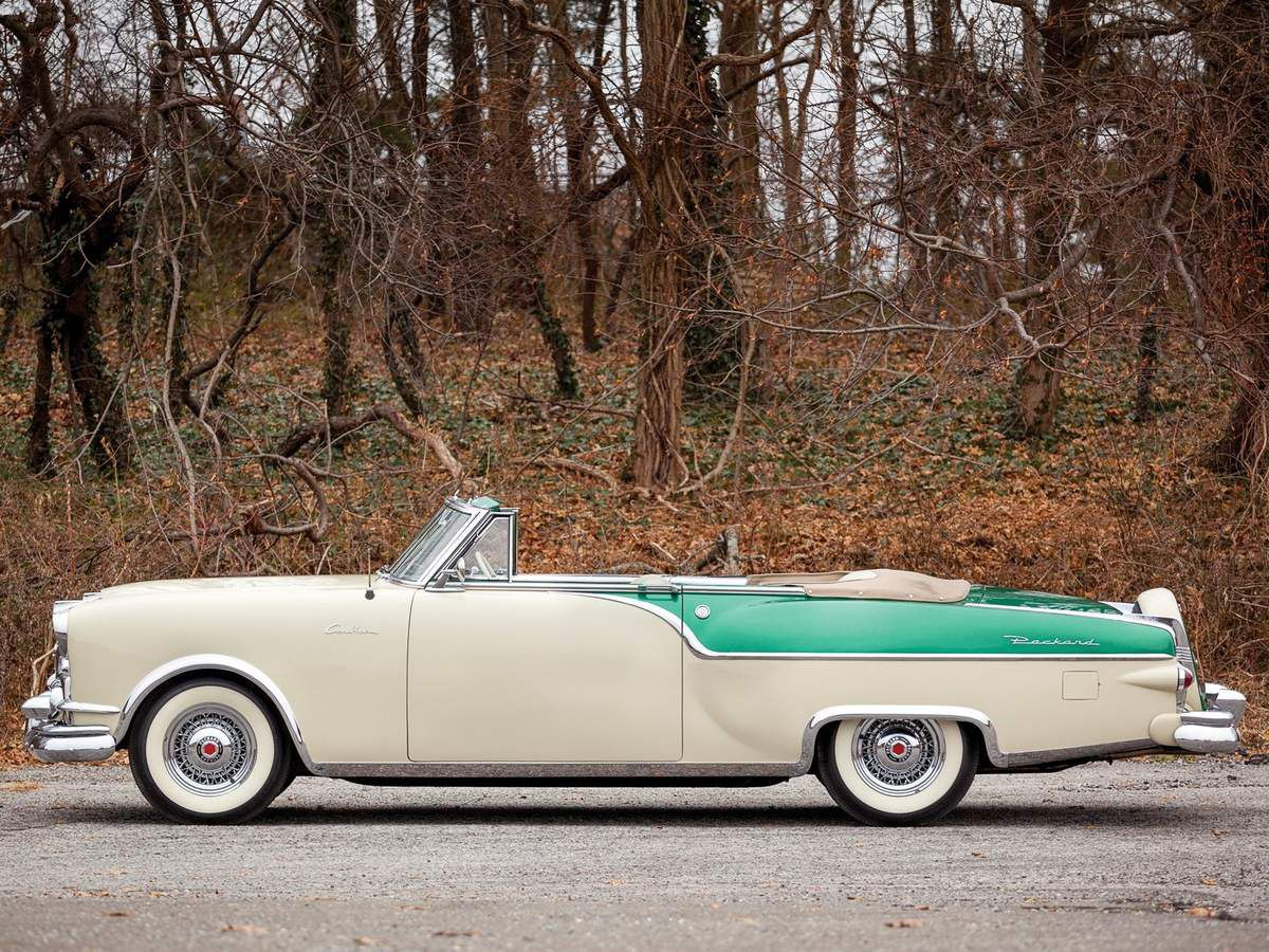 VOITURES DE LEGENDE (1012) : PACKARD  CARIBBEAN CONVERTIBLE COUPE - 1954