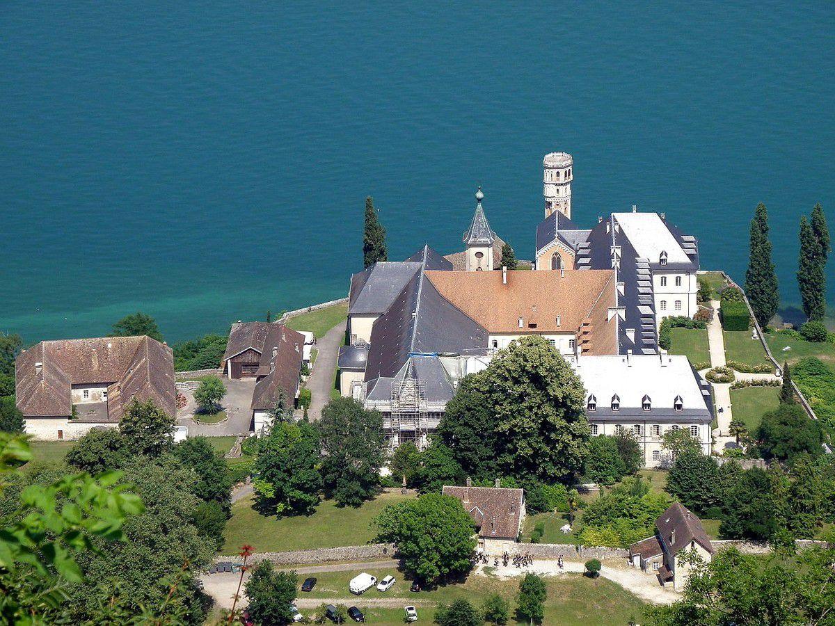 TRESORS DU PATRIMOINE FRANCAIS : SAINT-PIERRE-DE-CURTILLE  (SAVOIE) - ABBAYE ROYALE D'HAUTECOMBE