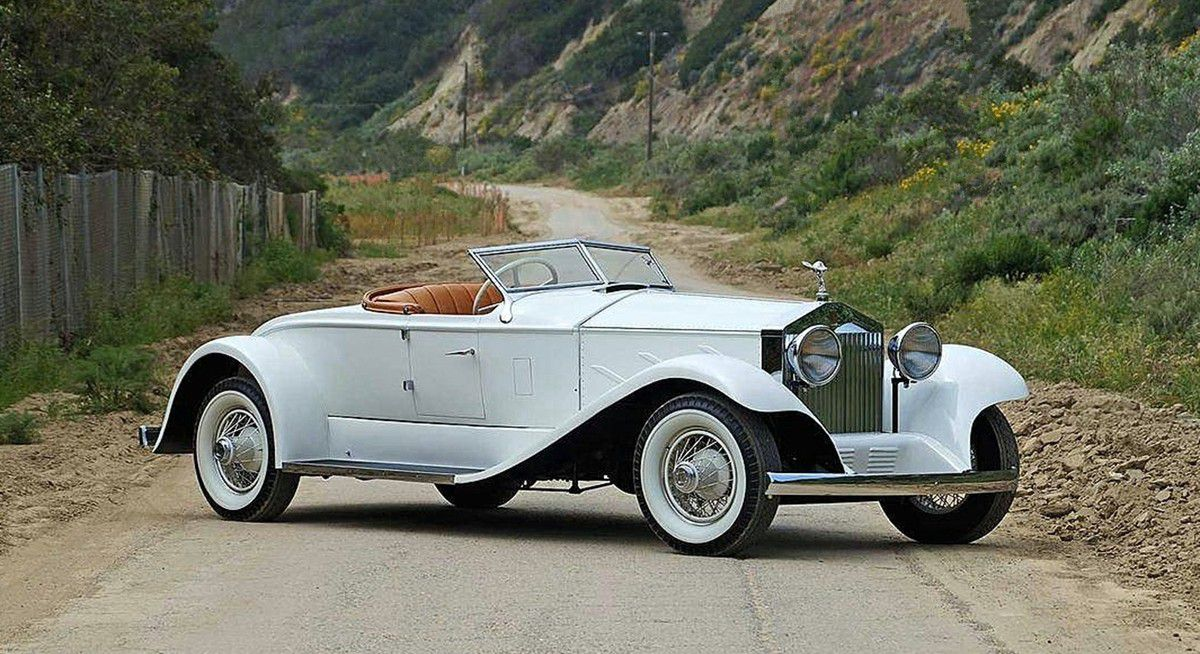 VOITURES DE LEGENDE (1016) : ROLLS-ROYCE  SILVER GHOST PICCADILLY SPECIALE ROADSTER - 1924