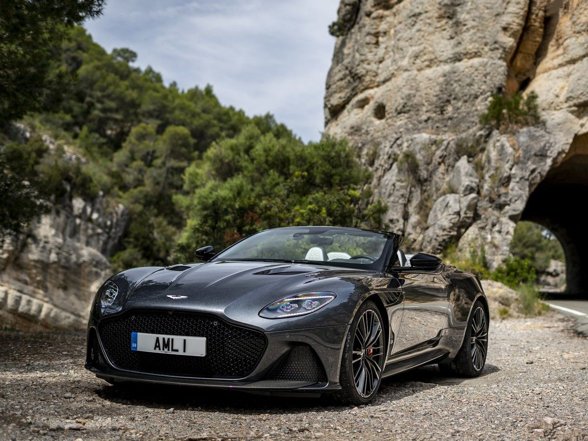 "VOITURES DE LEGENDE (1020) : ASTON MARTIN  DBS SUPERLEGGERA  ""VOLANTE"" - 2020"