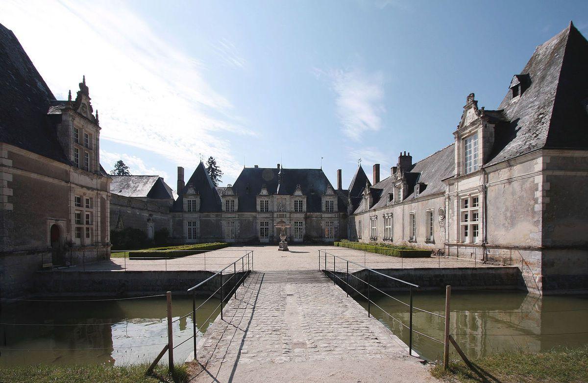 TRESORS DU PATRIMOINE FRANCAIS : TOUR-EN-SOLOGNE  (LOIR-ET-CHER) - CHATEAU DE VILLESAVIN