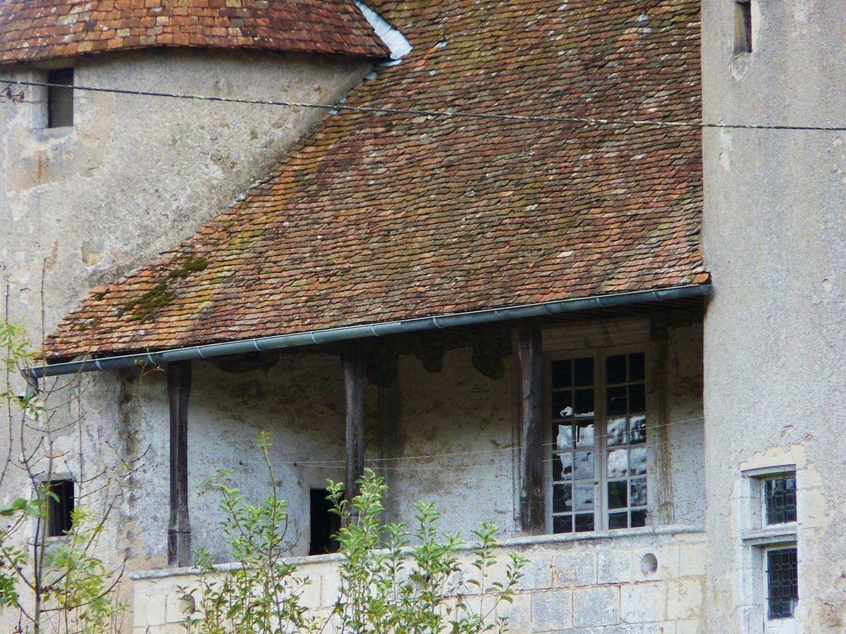 TRESORS DU PATRIMOINE FRANCAIS : MONTBRON  (CHARENTE) - LE CHATEAU DE CHABROT
