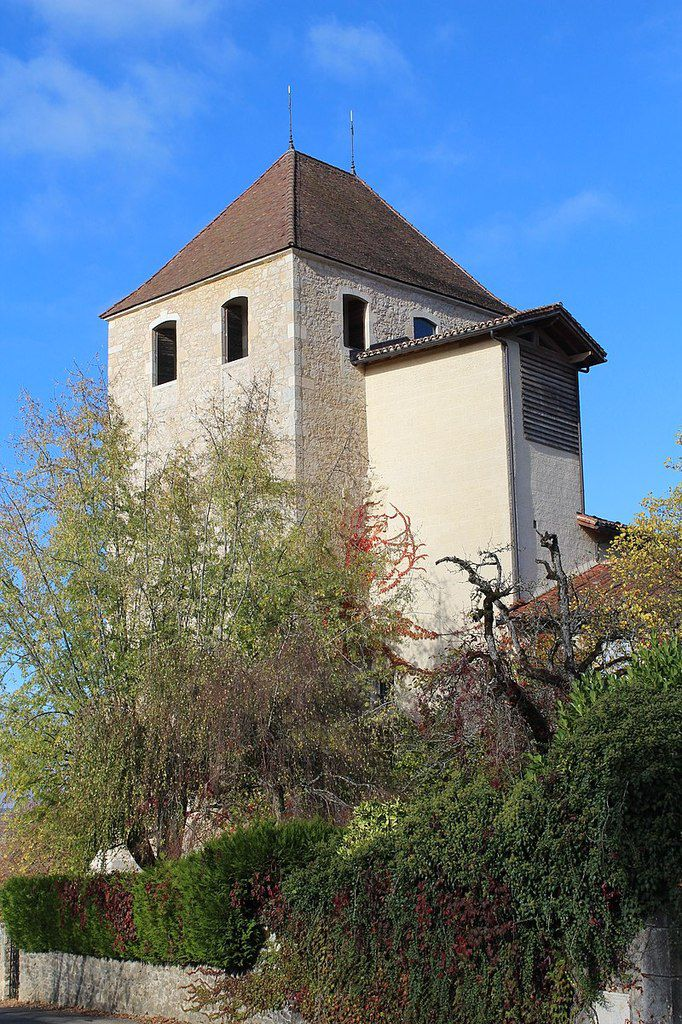 TRESORS DU PATRIMOINE FRANCAIS : AMBRONAY  (AIN) - L'ABBAYE NOTRE-DAME