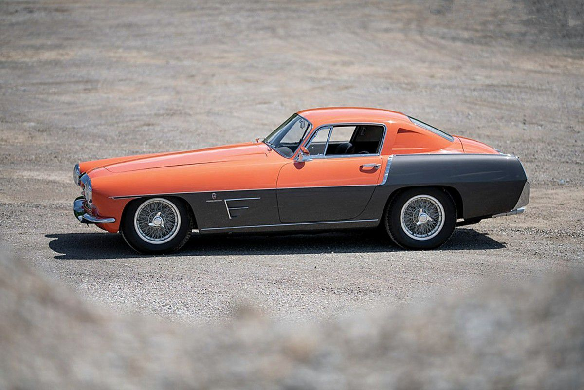 VOITURES DE LEGENDE (1035) : FERRARI  375 MM  GHIA COUPE SPECIALE - 1954