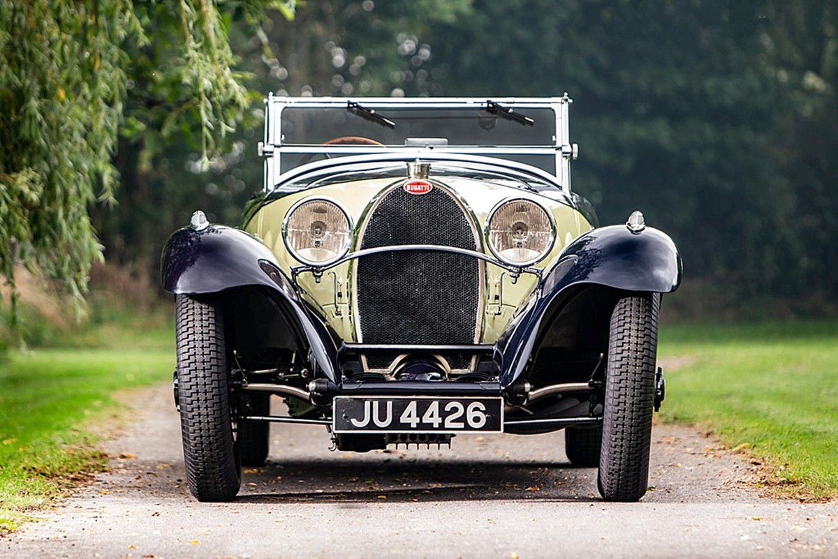 VOITURES DE LEGENDE (1038) : BUGATTI  TYPE 55  FIGONI ROADSTER - 1932