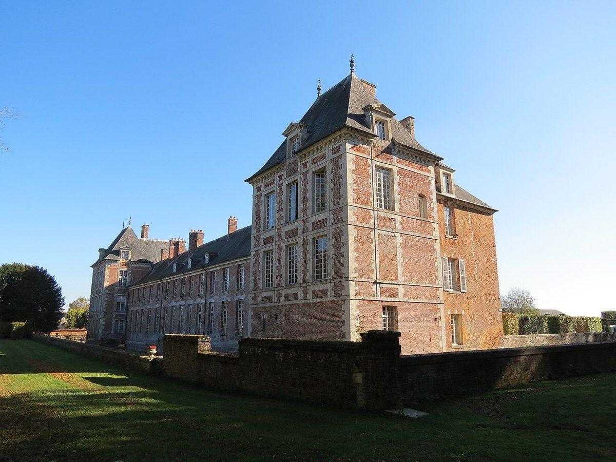 TRESORS DU PATRIMOINE FRANCAIS : HEUDICOURT  (EURE) - LE CHATEAU