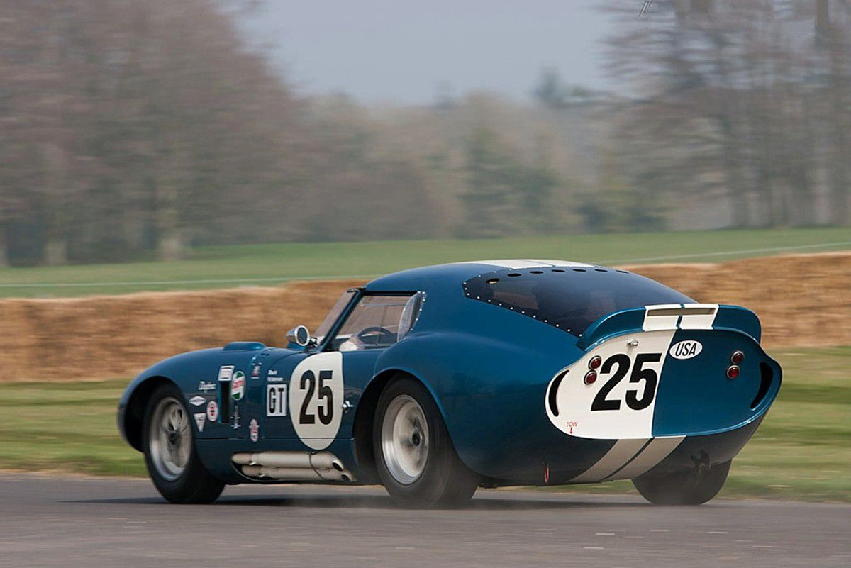 VOITURES DE LEGENDE (1053) : AC  SHELBY COBRA DAYTONA COUPE - 1964