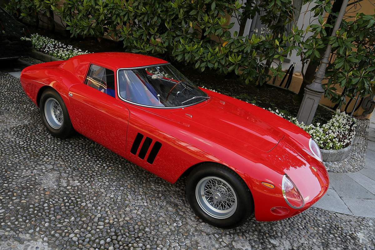 VOITURES DE LEGENDE (1063) : FERRARI  250 GTO PININFARINA COUPE - 1962