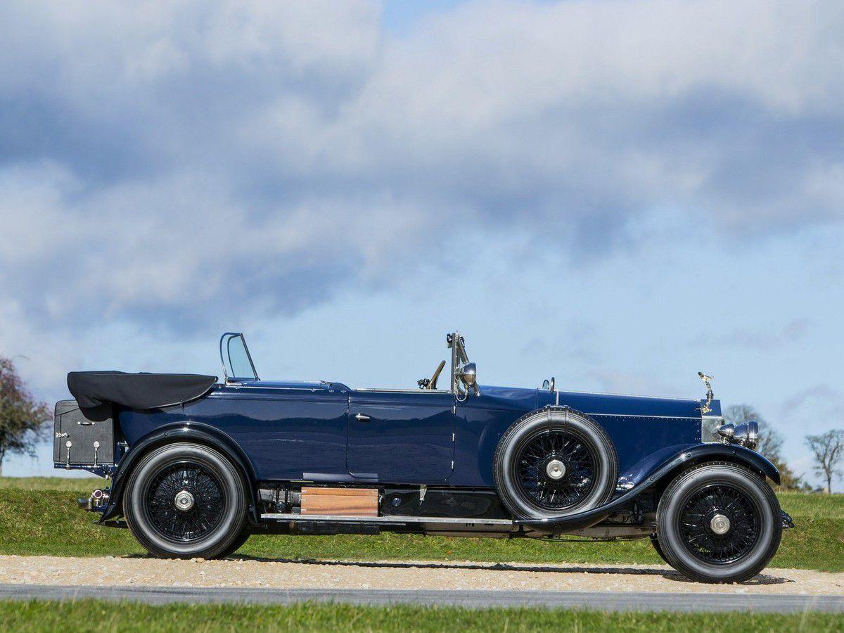 """VOITURES DE LEGENDE (1067) : ROLLS-ROYCE 40-50 HP  """"PHANTOM I"""" JAMES YOUNG TOURER - 1928"""