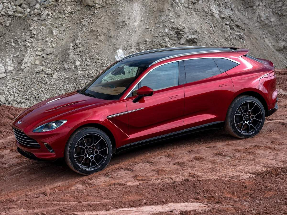 VOITURES DE LEGENDE (1066) : ASTON MARTIN  DBX - 2021